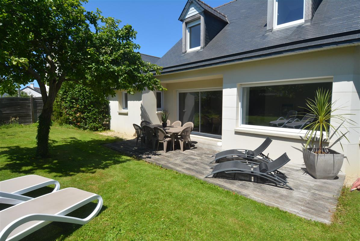 Saint malo location maison avec jardin la touesse saint malo camping for Location maison